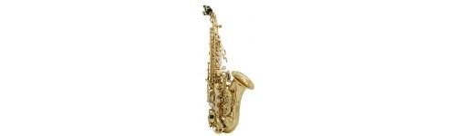 Saxofones Sopranos Curvos